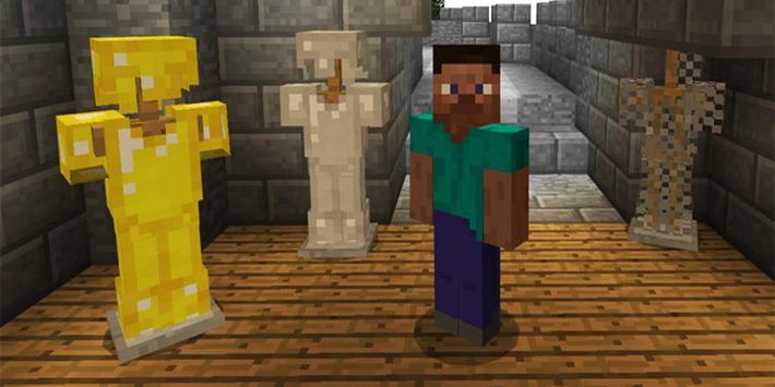 Mod Armor Stand for Minecraft PE screenshot 4