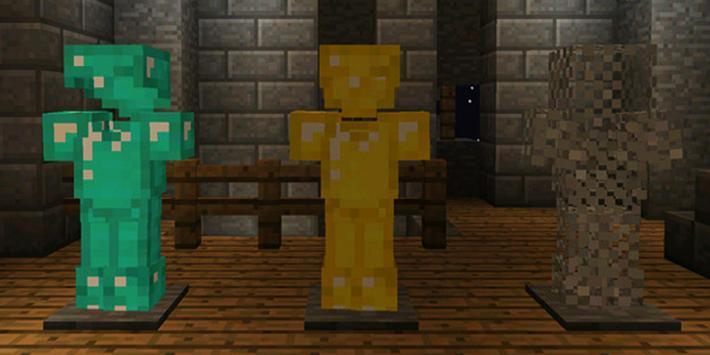 Mod Armor Stand for Minecraft PE screenshot 6