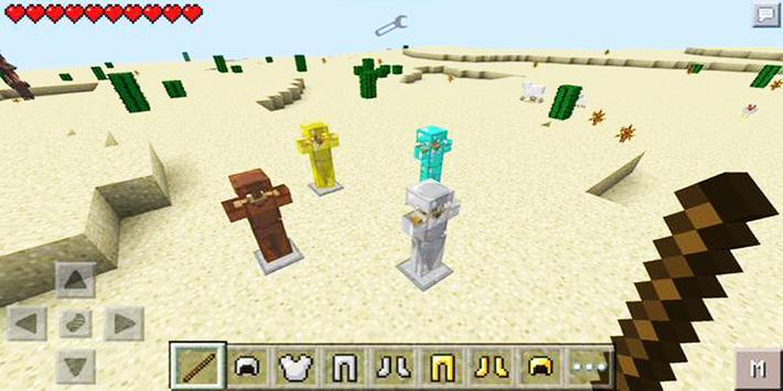 Mod Armor Stand for Minecraft PE screenshot 8