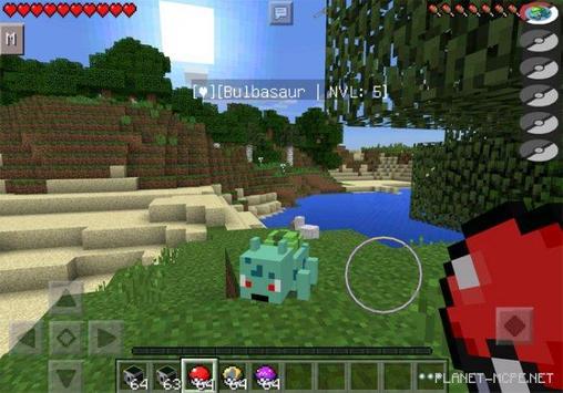 Mod Pixelmon for Minecraft PE poster