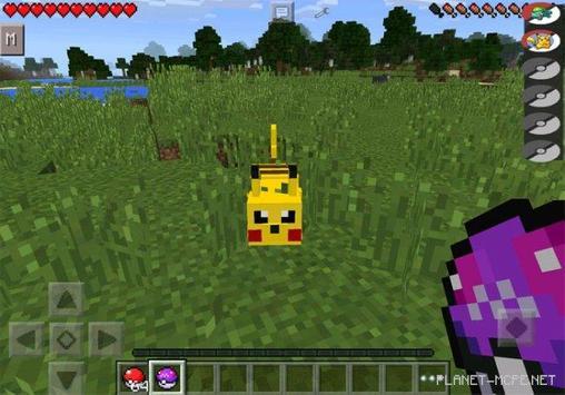 Mod Pixelmon for Minecraft PE screenshot 1