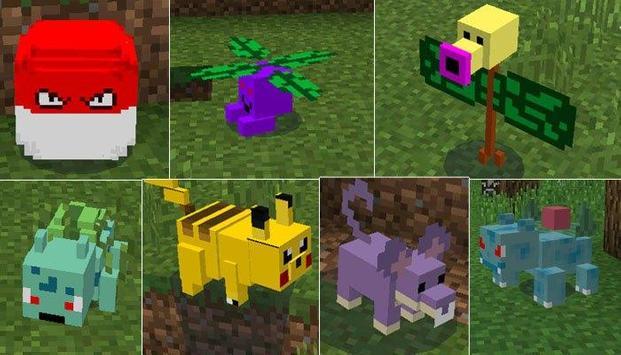 Mod Pixelmon for Minecraft PE screenshot 2