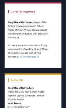 MeghDeep Distributors apk screenshot