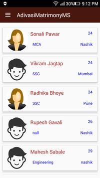 Adivasi Matrimony MS screenshot 1