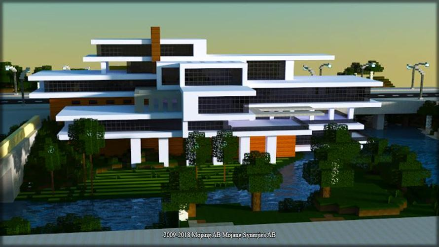 Modern Mansion Maps For Minecraft Pe For Android Apk Download