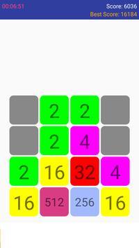 My 2048 apk screenshot