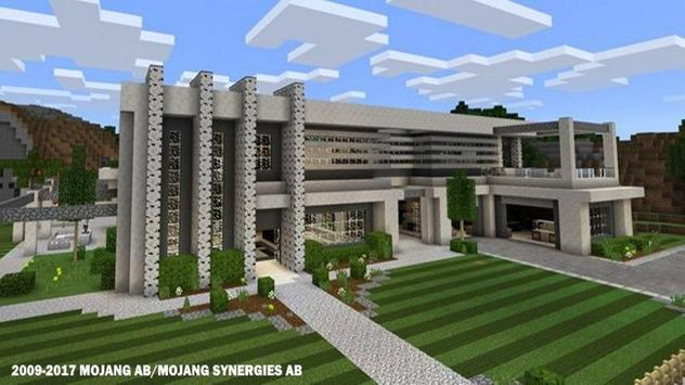 modern houses for minecraft apk screenshot