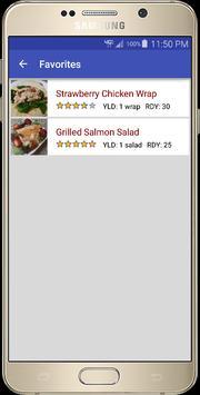 21 Day Recipes - FREE apk screenshot