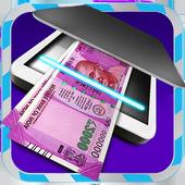 Modi Fake Money Scanner Prank3 icon