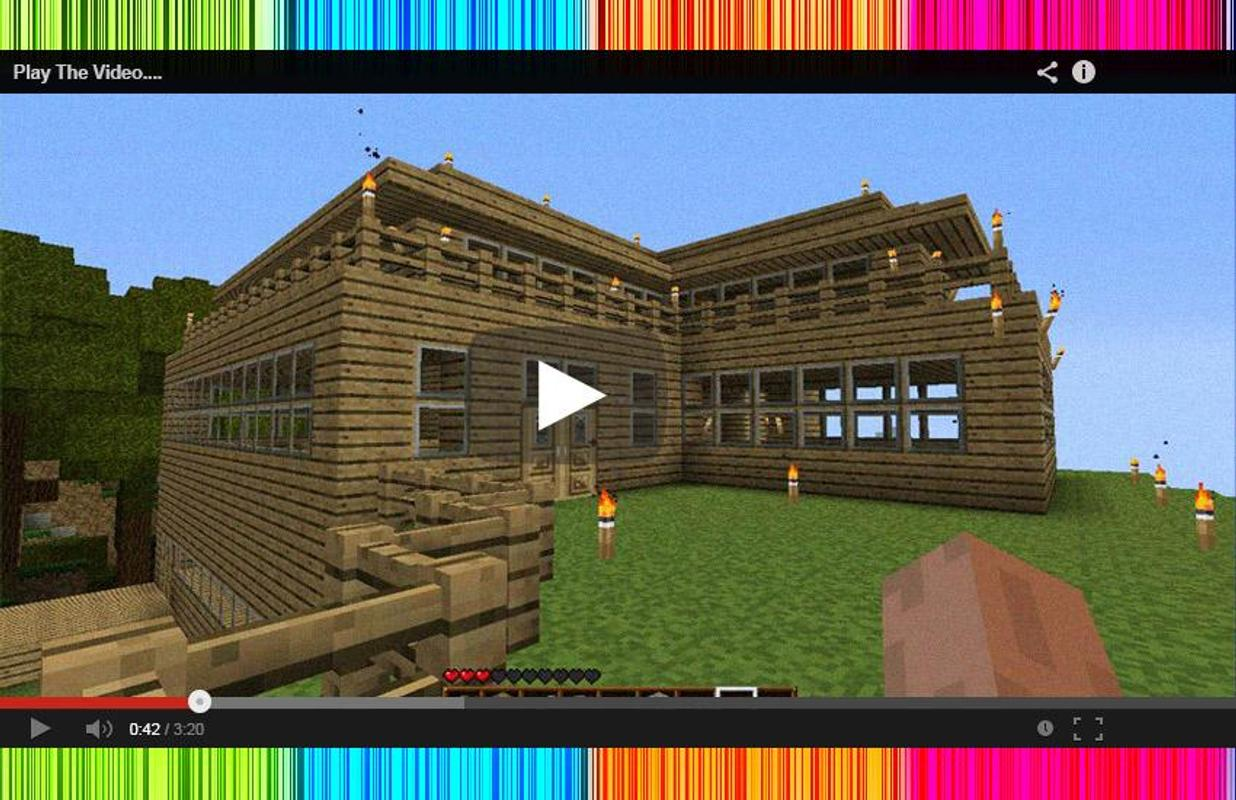 Epic Minecraft PE House Ideas For Android