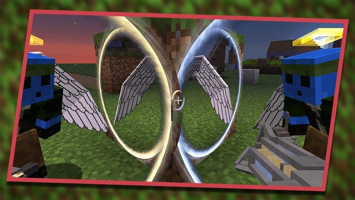 майнкрафт с модом портал 2