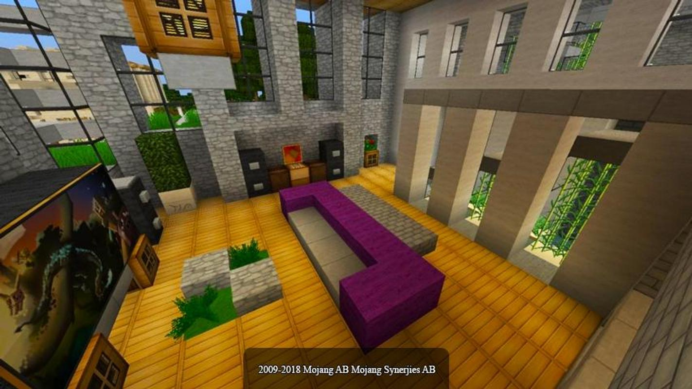 Furniture mod mcpe poster