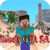 Mods GTA SA for Minecraft icon