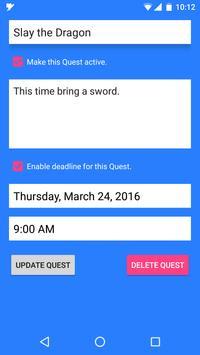 QuestTracker apk screenshot