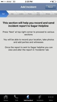 Sagar Helpline poster