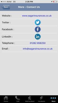 Sagar Helpline apk screenshot