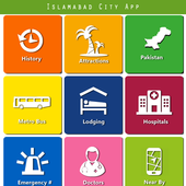 Islamabad City App icon
