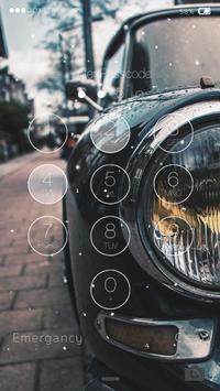Car Lock Screen Live Wallpaper apk screenshot
