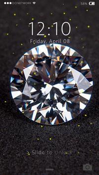Diamond Lock Screen Live WP apk screenshot