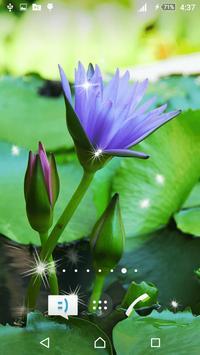 3D Lotus Live Wallpaper poster