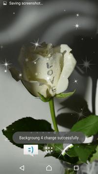 Love Romentic Rose LiveWP apk screenshot