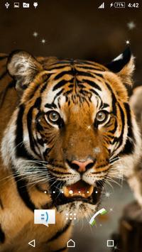 Tiger Live Wallpaper poster