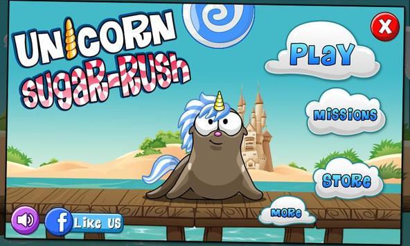 Unicorn Sugar Rush screenshot 1