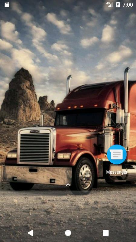 Semi Truck Wallpaper HD Free Apk Screenshot