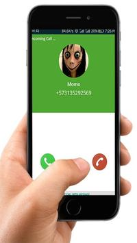 Fake Call From Scary  Momo poster