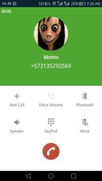 Fake Call From Scary  Momo screenshot 1