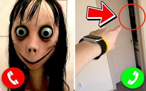 Call From Momo creepy poster