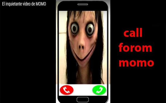 Call From Momo vedio-sms-chat poster