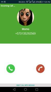Momo Creepy Call is Coming poster