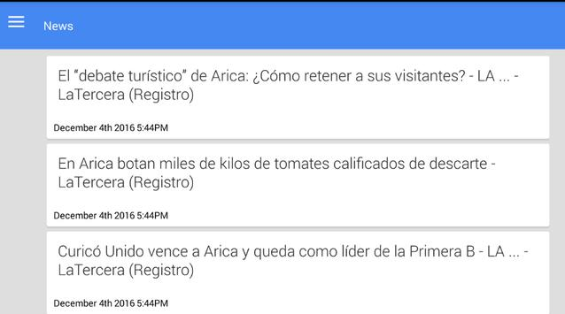 Noticias de Arica screenshot 1