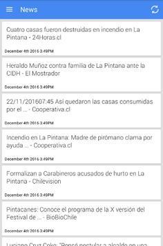 Noticias de La Pintana poster