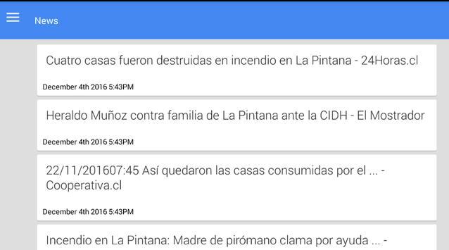 Noticias de La Pintana screenshot 1