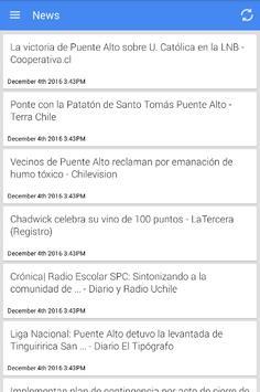 Noticias de Puente Alto poster
