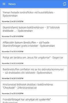 Nachrichten aus Skanör poster