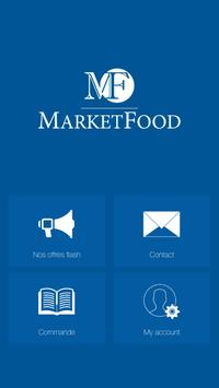 Market Food poster
