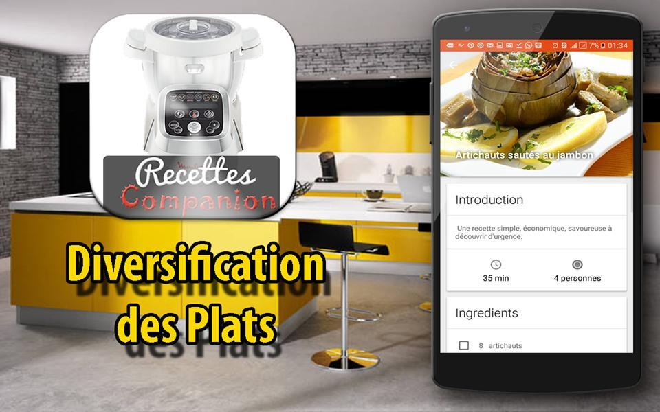 Companion Moulinex Recettes For Android Apk Download