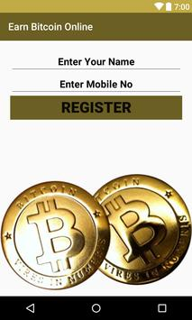 Free Bitcoin Miner 2017 - Earn BTC apk screenshot