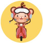 [몽키라이더스] 맛집배달/약국/편의점/마트/생활심부름 icon