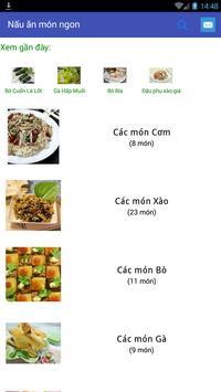 Nấu những món ăn ngon poster
