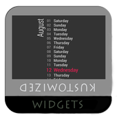 Month List for KWGT icon
