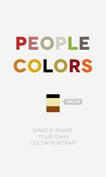 People Colors poster