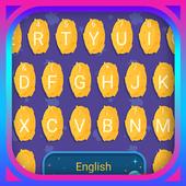 Moon Footprint Theme&Emoji Keyboard icon