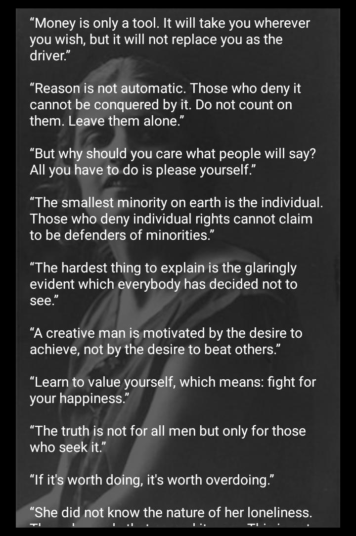 Ayn Rand Quotes For Android Apk Download