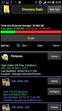Directory Statistics screenshot 4