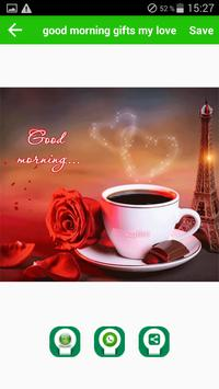 Good Morning Gifts-special greetings poster
