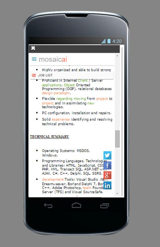 A.I. Resume Builder APK Download - Free Business APP for Android ...